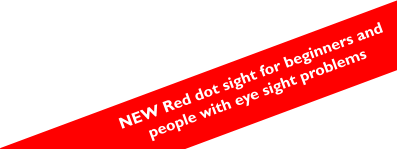 NEW Red dot sight for beginners and people with eye sight problems